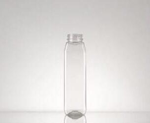 Square Glass Bottle (8-16oz)